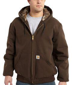 Carhartt Camo Lined Duck Active Jacket, , hi-res