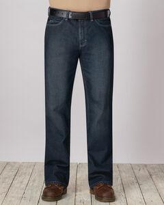 Bulwark Men's Flame-Resistant Straight Fit Sanded Denim Jeans , , hi-res