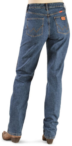 Wrangler Women's Cowboy Cut Natural Rise Jeans - Tapered Leg, , hi-res