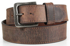American Worker Men's Wide Leather Belt, , hi-res