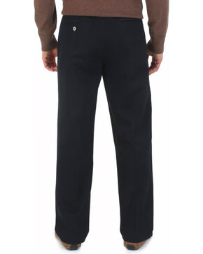 "Wrangler Rugged Wear Pleated Pants - Big Up to 50"" Waist, Black, hi-res"