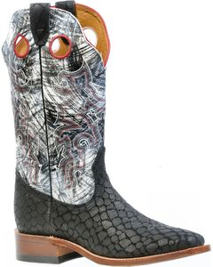Boulet Puzzle Cowgirl Boots - Square Toe, , hi-res