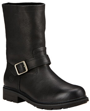 Ariat Men's Black Stonewall Ranch Boots - Round Toe , Black, hi-res
