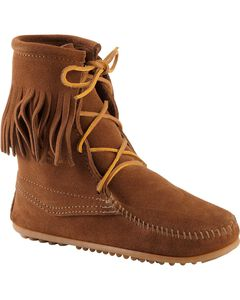 Minnetonka Tramper Moccasin Boots, , hi-res