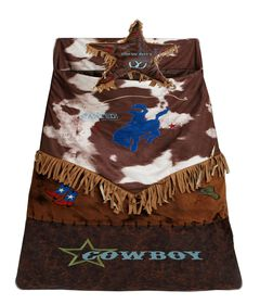 Kids' Western Star Bucking Bronco Sleeping Bag, , hi-res