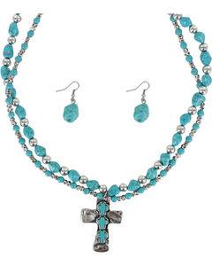 Shyanne Women's Cross Jewelry Set, , hi-res
