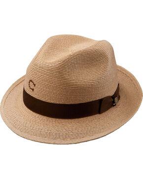 Charlie 1 Horse Women's Mojito Straw Fedora Hat, Natural, hi-res