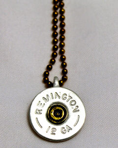 SouthLife Supply Oakley Shotshell Necklace in Antique Silver, , hi-res