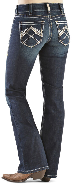 Ariat Real Denim Whipstitched Jeans, Denim, hi-res