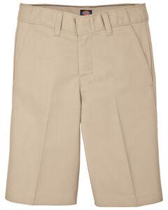 Dickies Boys' Flex Waist Flat Front Shorts - 16-20, , hi-res