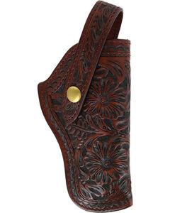 3D Brown Basketweave Revolver Holster, , hi-res