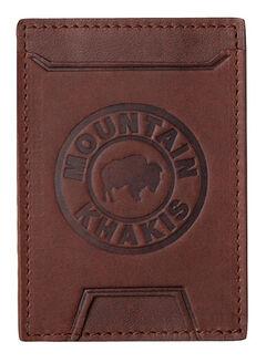 Mountain Khakis Brown Leather MK Wallet , , hi-res