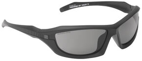 5.11 Tactical Burner Full Frame Sunglasses (Plain Lens), Black, hi-res