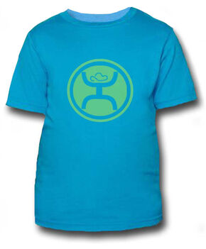 HOOey Youth Boys' Turquoise Hippie T-Shirt , Blue, hi-res