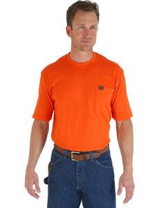 Wrangler Men's Riggs Short Sleeve Pocket T-Shirt, , hi-res