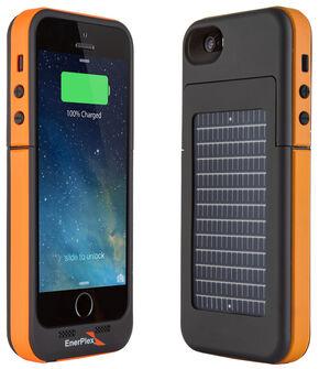 EnerPlex Surfr Solar Battery Case - iPhone 5/5S Orange, Orange, hi-res