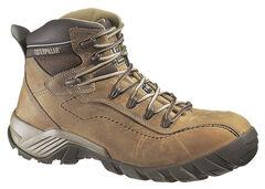 Caterpillar Men's Nitrogen Composite Toe Work Boots, , hi-res