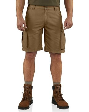 Carhartt Rugged Cargo Work Shorts, Brown, hi-res