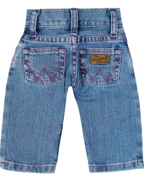 Wrangler Infant Girls' Western Jeans , Blue, hi-res