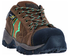 McRae Women's Low Cut XRD Met Guard Hiker Work Boots - Composite Toe, , hi-res