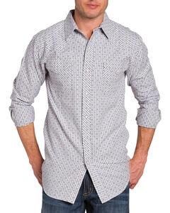 Resistol Double Men's Afton Check Long Sleeve Shirt, , hi-res