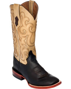 Ferrini French Calf Leather Cowgirl Boots - Square Toe, , hi-res