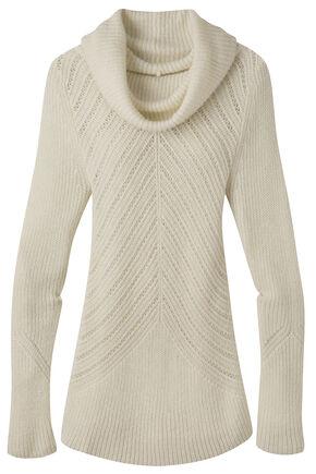 Mountain Khakis Women's Countryside Cowl Neck Sweater, Cream, hi-res