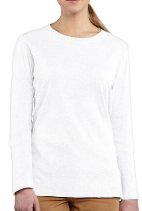 Carhartt Calumet Crewneck Long Sleeve Top, White, hi-res