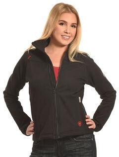 Ariat Women's Black Flame Resistant Platform Jacket, , hi-res