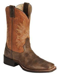 Double H Roper Cowboy Boots - Wide Square Toe, , hi-res