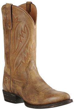 Ariat Men's Brown Cut Loose Boots - Medium Toe, , hi-res