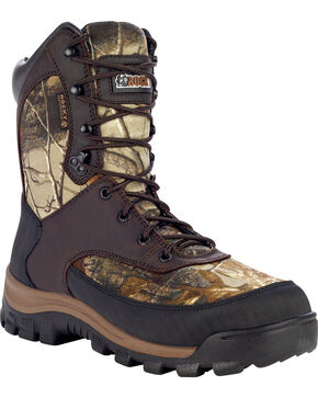 Rocky Core Waterproof Insulated Outdoor Boots - Round Toe, Camouflage, hi-res