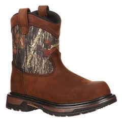 Rocky Boys' Ride Wellington Waterproof Boots, , hi-res