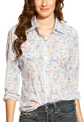 Ariat Women's Stanton Snap Shirt, Multi, hi-res