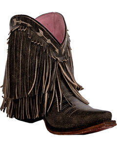 Junk Gypsy by Lane Women's Rustic Brown Spitfire Boots - Snip Toe , , hi-res