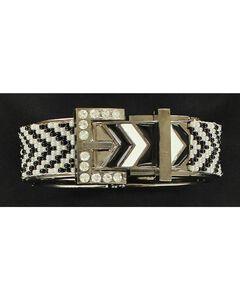 Blazin Roxx Chevron Buckle Bracelet, , hi-res