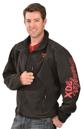 Wrangler 20X Men's Performance Logo Jacket, Black, hi-res