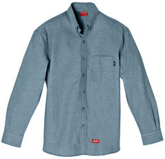 Dickies Flame Resistant Chambray Work Shirt, , hi-res