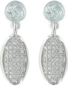 Montana Silversmiths Women's Silver Fairest Drops Of All Earrings , , hi-res