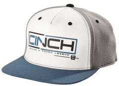 Cinch Men's Grey and Blue Cap, , hi-res