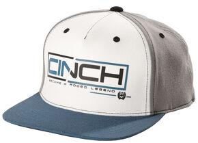 Cinch Men's Grey and Blue Cap, Grey, hi-res