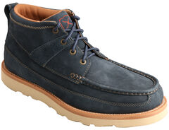 Twisted X Men's Softy Blue Casual Lace-Up Boots - Moc Toe , , hi-res