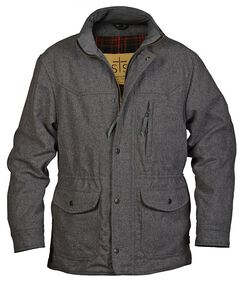 STS Ranchwear Men's Smitty Grey Barn Jacket, Grey, hi-res