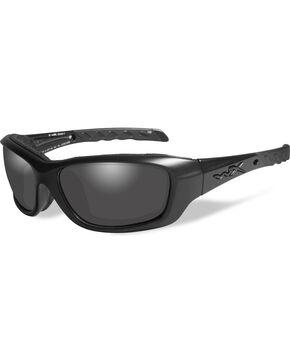 Wiley X Black Ops Gravity Grey Matte Black Sunglasses , Black, hi-res