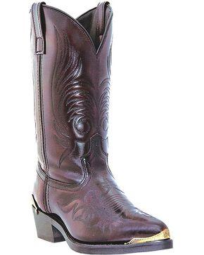 Dingo Asphalt Cowboy Boots - Round Toe, Black Cherry, hi-res