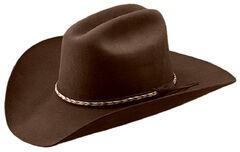 Master Hatters Men's Bandit 3X Wool Felt Cowboy Hat, , hi-res