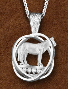 Kelly Herd Women's Sterling Silver Small World Trophy Necklace, , hi-res