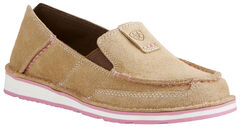 Ariat Women's Taupe Cruiser Shoes - Moc Toe, , hi-res