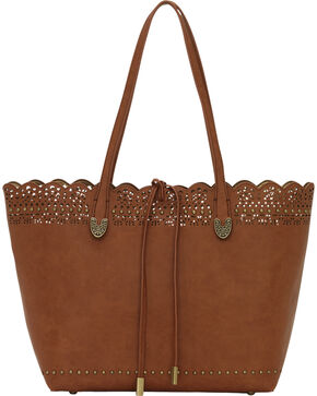 Bandana by American West Darlington Collection Day Tote, Brown, hi-res