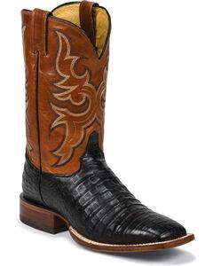 Justin Men's AQHA Remuda Caiman Cowboy Boots - Square Toe, , hi-res